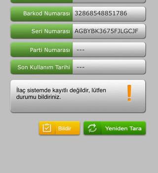 İlaç Takip Sistemi Mobil Ekran Görüntüleri - 2