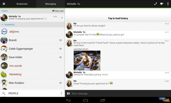 IMO Instant Messenger Ekran Görüntüleri - 5