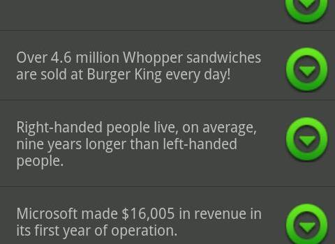 Interesting Facts Ekran Görüntüleri - 2