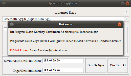 Ip ve DNS Değiştirme Ekran Görüntüleri - 2