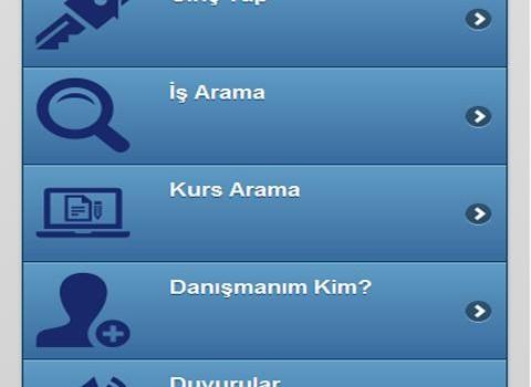 ISKUR Mobil Uygulama Ekran Görüntüleri - 4
