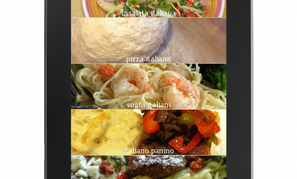 Italian Recipes Ekran Görüntüleri - 2