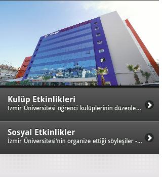 İzmir Üniversite Etkinlikleri Ekran Görüntüleri - 1