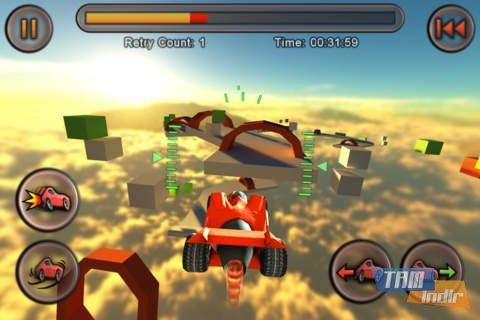 Jet Car Stunts Lite Ekran Görüntüleri - 4