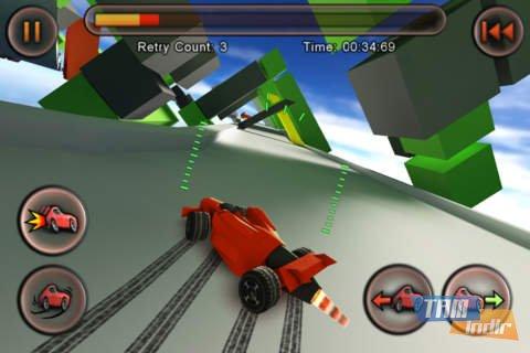 Jet Car Stunts Lite Ekran Görüntüleri - 3