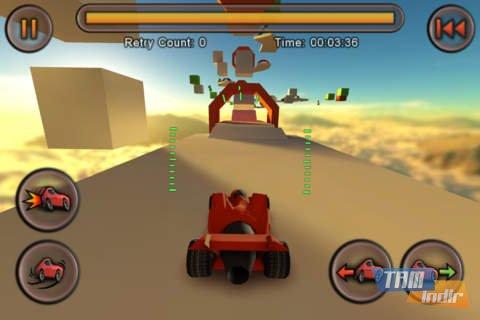 Jet Car Stunts Lite Ekran Görüntüleri - 2