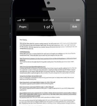 JotNot Scanner Ekran Görüntüleri - 4