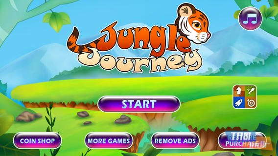 Jungle Journey: Tiger Run Ekran Görüntüleri - 3