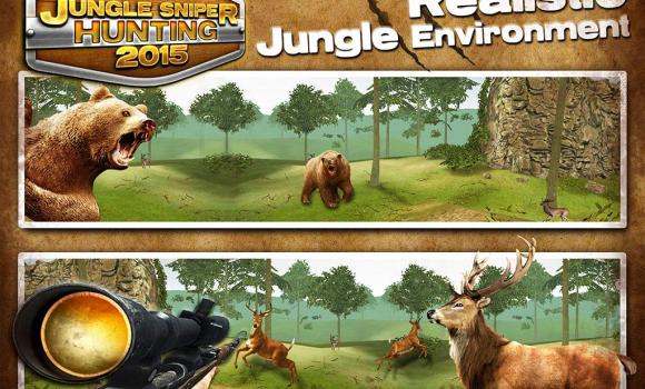 Jungle Sniper Hunting 2015 Ekran Görüntüleri - 4
