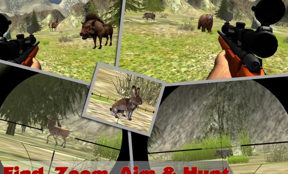 Jungle Sniper Hunting 3D Ekran Görüntüleri - 3