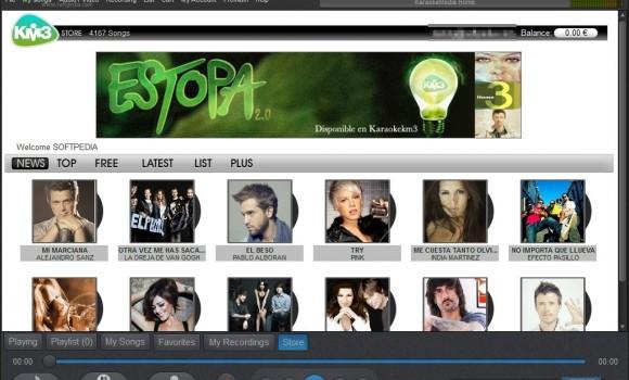 KaraokeMedia Home Ekran Görüntüleri - 1