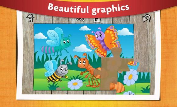 Kids Animals Jigsaw Puzzles Ekran Görüntüleri - 4