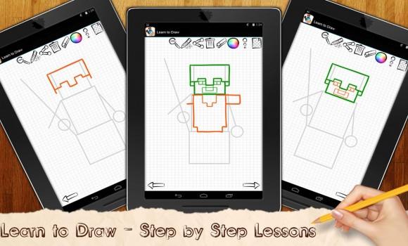 Learn to Draw Minecraft Legos Ekran Görüntüleri - 3