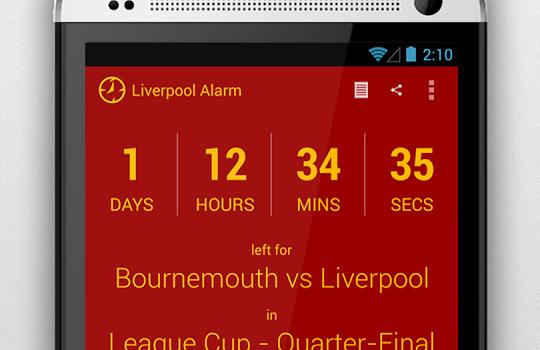 Liverpool Alarm Ekran Görüntüleri - 3