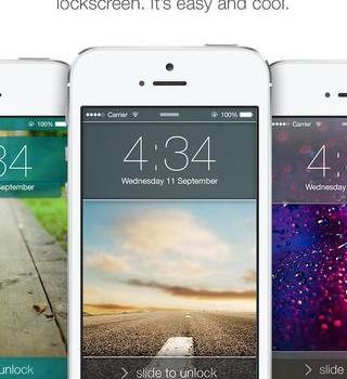 LockScreen for iOS7 Ekran Görüntüleri - 1