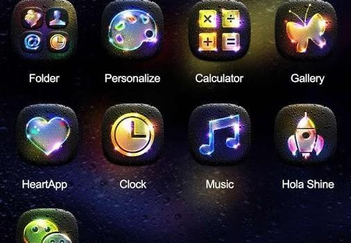 Luminous Hola Launcher Theme Ekran Görüntüleri - 2