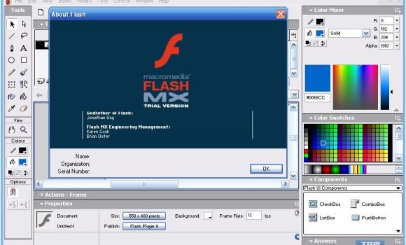 Macromedia Flash MX 2004 Ekran Görüntüleri - 1
