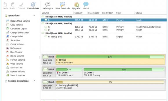 Macrorit Disk Partition Expert Free Ekran Görüntüleri - 1