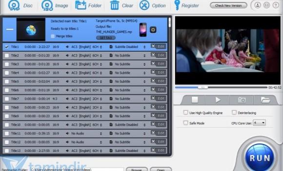 MacX DVD Ripper Pro Ekran Görüntüleri - 1