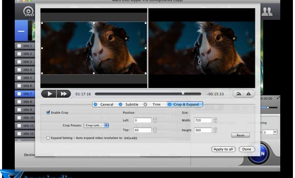 MacX DVD Ripper Pro Ekran Görüntüleri - 3