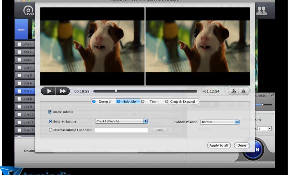 MacX DVD Ripper Pro Ekran Görüntüleri - 2