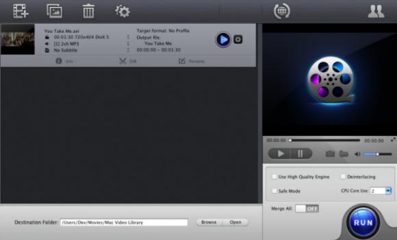 MacX Free iMovie Video Converter Ekran Görüntüleri - 1