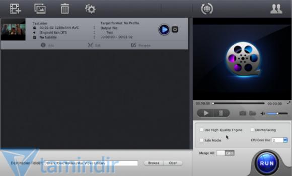 MacX Free MKV Video Converter Ekran Görüntüleri - 1