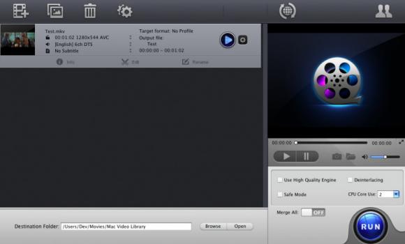 MacX Free MOV Video Converter Ekran Görüntüleri - 1