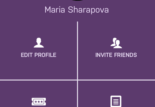 Maria Sharapova Official App Ekran Görüntüleri - 1