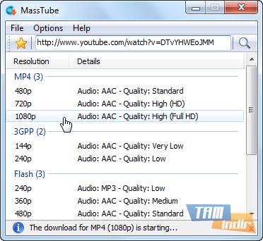 MassTube Ekran Görüntüleri - 1