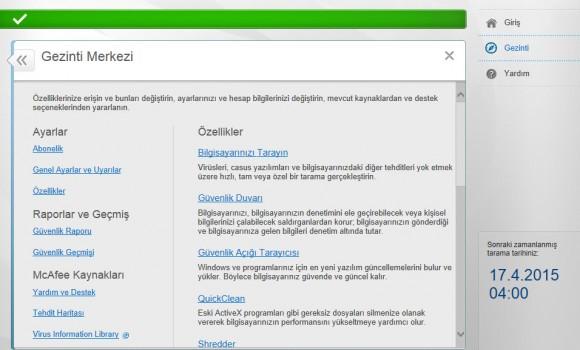 McAfee AntiVirus Plus Ekran Görüntüleri - 3