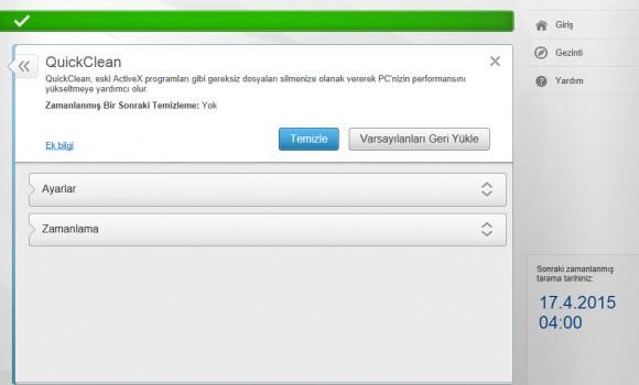 McAfee AntiVirus Plus Ekran Görüntüleri - 5