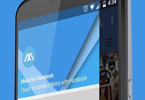 Metal for Facebook & Twitter Ekran Görüntüleri - 4
