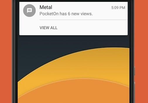 Metal for Facebook & Twitter Ekran Görüntüleri - 3