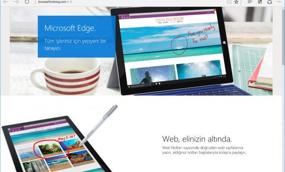 Microsoft Edge Ekran Görüntüleri - 6