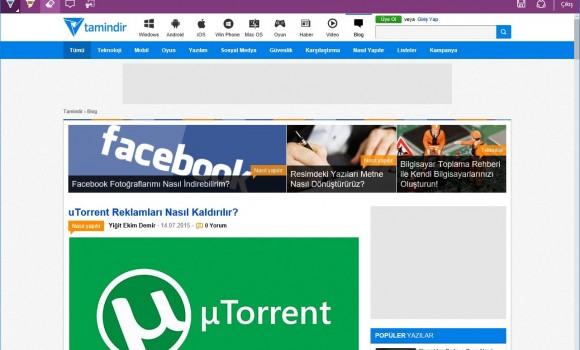 Microsoft Edge Ekran Görüntüleri - 4