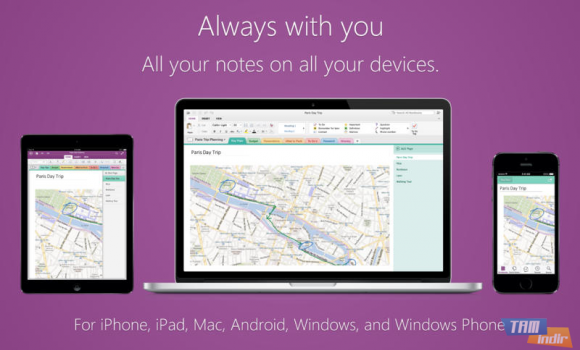 Microsoft OneNote Ekran Görüntüleri - 1