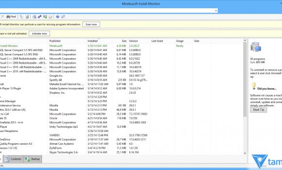 Mirekusoft Install Monitor 2 Ekran Görüntüleri - 1