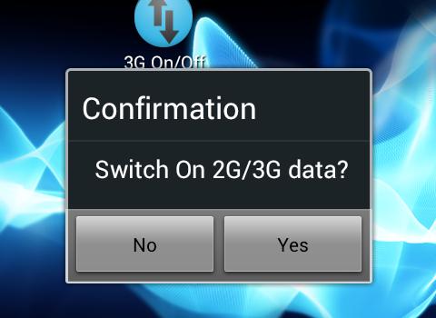 Mobile Data On Off Ekran Görüntüleri - 2