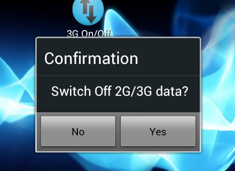 Mobile Data On Off Ekran Görüntüleri - 1