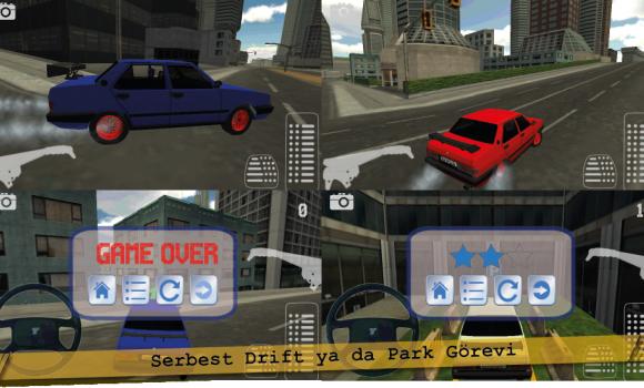 Modifiyeli Şahin Drift ve Park Ekran Görüntüleri - 3