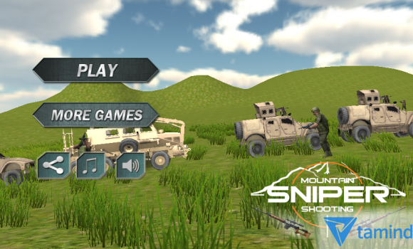 Mountain Sniper Shooting 3D Ekran Görüntüleri - 5