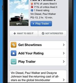 Movies by Flixster Ekran Görüntüleri - 3