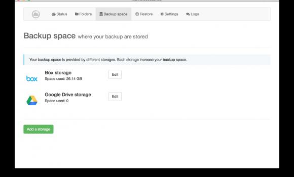 MultiCloudBackup Ekran Görüntüleri - 1