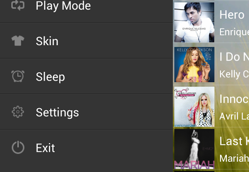 Music Player Ekran Görüntüleri - 3