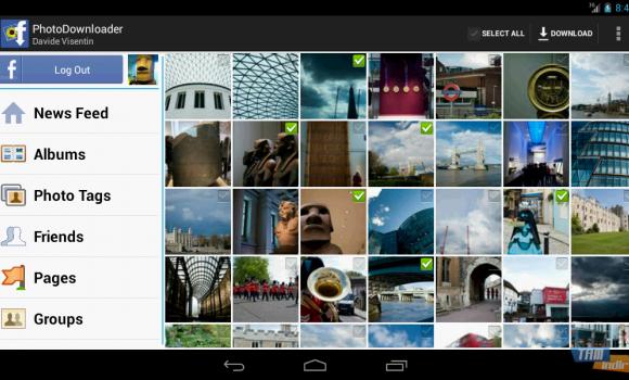 MyPhotoDownloader for Facebook Ekran Görüntüleri - 1