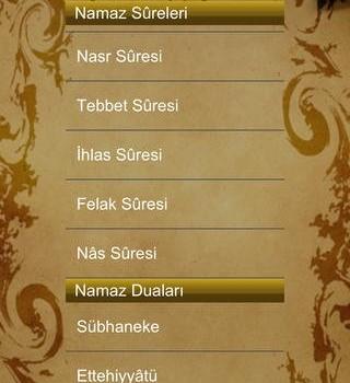 Namaz ve Türkçesi Ekran Görüntüleri - 2