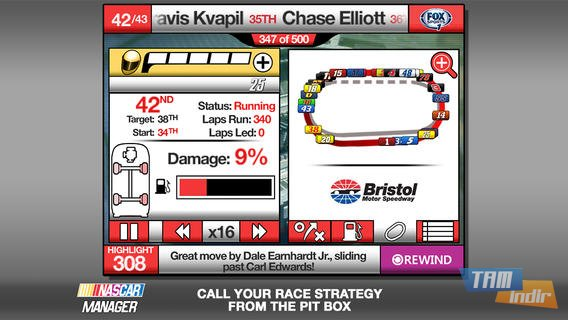 NASCAR Manager Ekran Görüntüleri - 1
