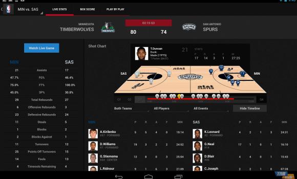 NBA GAME TIME Ekran Görüntüleri - 4