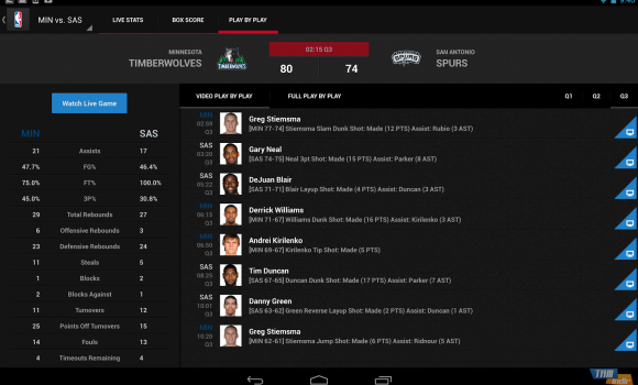 NBA GAME TIME Ekran Görüntüleri - 2